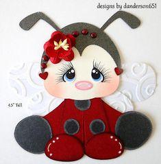 Ladybug Die Cuts Paper Piecing Set PreMade Border Scrapbook Album danderson651