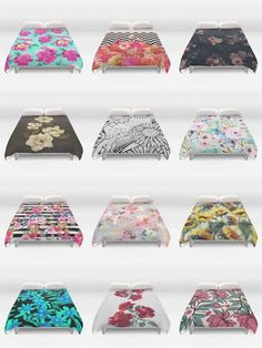 Society6 Floral Duvet Covers - Society6 is home to hundreds of thousands of artists from around the globe, uploading and selling their original works as 30+ premium consumer goods from Art Prints to Throw Blankets. They create, we produce and fulfill, and every purchase pays an artist.