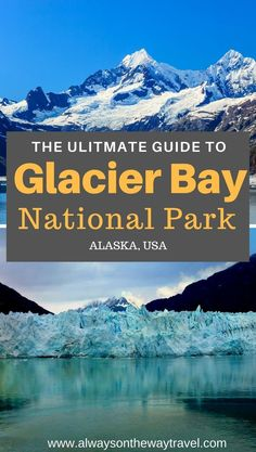 Glacier Bay National Park is a world heritage site and the highlight of your trip to Alaska's Inside Passage. The park covers million acres of ocean, snowy mountains, inlets, tidal water glaciers, and so much more. Travel Alaska, Travel Usa, Alaska Trip, Alaska Camping, Alaska National Parks, Glacier Bay National Park, National Park Tours, Lofoten, Florida Keys