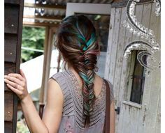 I like this idea but wonder how it would look not in a braid...?
