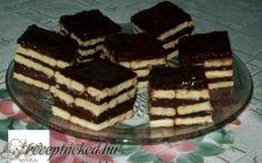 Csokis kekszes édesség recept fotóval Tiramisu, Sweets, Ethnic Recipes, Food, Cakes, Gummi Candy, Cake Makers, Candy, Essen
