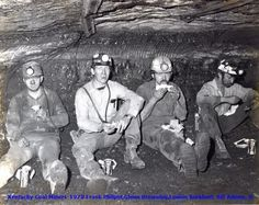 Coal Mining Pictures - Where The coal miner worked and where he lived