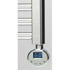 300W R1 Chrome Thermostatic Electric Element for Heated Towel Rails
