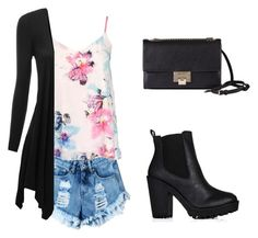 """""""Untitled #125"""" by cocolouise22 ❤ liked on Polyvore featuring Dorothy Perkins, Doublju, Jimmy Choo, statefair and summerdate"""