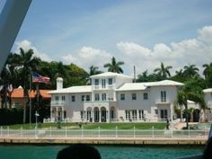 "The original House where the movie Scarface  was filmed with Al Pacino was the start of our ""Star Island"" tour (Boat tour of Celebrity Homes)"