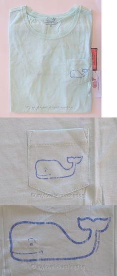 Women T Shirts: Nwt Vineyard Vines Women S Whale Poolside Pocket T-Shirt Tee Sz M Top Blouse -> BUY IT NOW ONLY: $45 on eBay!