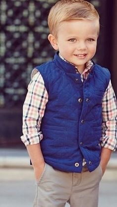 Amber Murphy I know a little boy that would be SOOOOO cute in this outfit! Of co...
