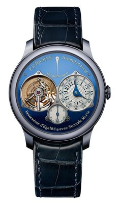 Powerful Blue Piece Uniques By Patek Philippe, F.P. Journe, and Voutilainen For Only Watch 2015