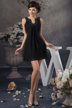 I like this little black cocktail party dress!!