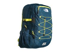 The North Face Borealis Prussian Blue/Sulphur Spring Green - Zappos.com Free Shipping BOTH Ways