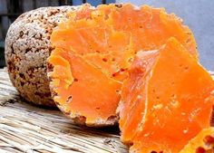 Mimolette, a hard cheese from the Lille area in France
