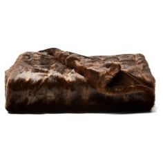 Check out this item at One Kings Lane! Faux Fur Throw, Sable