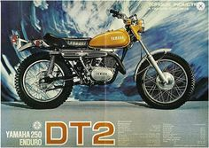 1972 Yamaha DT2 250 by Rickster G on Flickr.