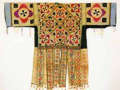 Chinese Embroidered Batik Dress