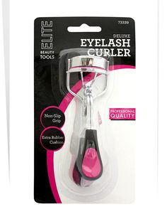 Elite Stainless Steel Deluxe Eyelash Curler w/Extra Rubber Pad $5.00