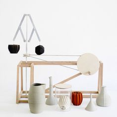 3D-printed perfume tools by Unfold and Barnabé Fillion