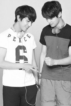 Yonghwa and Minhyuk