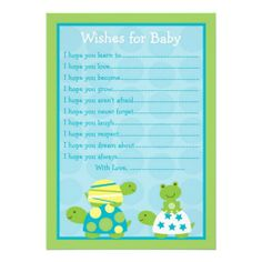 Baby Advice Cards More Ideas Showers Shower