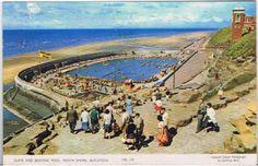 * Blackpool North Shore Cabin Lift Blackpool Pleasure Beach, British Holidays, North Shore, Vintage Postcards, Coast, Tower, Cabin, Vintage Travel Postcards, Lathe