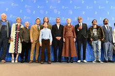 Wes Anderson Photos - (L-R) Bill Murray, Greta Gerwig, Bob Balaban, Bryan Cranston, Koyu Rankin, Wes Anderson, Liev Schreiber, Tilda Swinton, Jeff Goldblum, Akira Takayama and Andy Weisblum pose at the 'Isle of Dogs' photo call during the 68th Berlinale International Film Festival Berlin at Grand Hyatt Hotel on February 15, 2018 in Berlin, Germany. - 'Isle of Dogs' Photo Call - 68th Berlinale International Film Festival