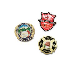 Cloisonne Lapel Pins are high quality, jewerly-like Lapel pins. They have a sharp contrast between colors and provide vast color separation for bold designs. Your Logo or brand will stand out well with our Cloisonee pins. Cloisonne Pins exemplify the art of glass enameling that started Centuries ago. These pins are a great way to show off your beautiful design.