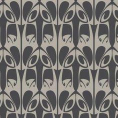 Graham & Brown 56 sq. ft. Hula Charcoal Wallpaper-18105 at The Home Depot
