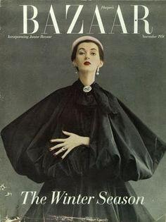 Harpers Bazaar 1950. By: Diana Vreeland