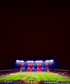 Watch a game at the camp nou