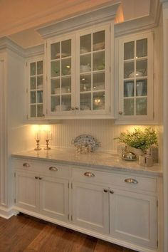 Kitchen Remodel Ideas Best 100 white kitchen cabinets decor ideas for farmhouse style design - Best 100 white kitchen cabinets decor ideas for farmhouse style design Kitchen Cabinets Decor, Cabinet Decor, Kitchen Cabinet Design, Kitchen Redo, Kitchen Ideas, Cabinet Ideas, Kitchen Pantry, Pantry Design, Dining Room Cabinets