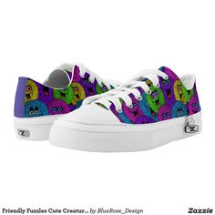 Friendly Fuzzles Cute Creatures Shoes 2 Printed Shoes