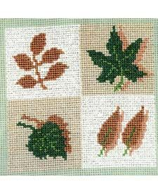 Patch with 4 Leaves, from DMC Club.