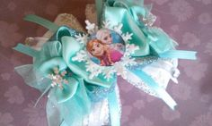 Items similar to NEW Snowflake Anna, Elsa or Anna & Elsa Hair Bow Attached to your choice of an alligator clip, hair tie or a headband on Etsy Princess Hair Bows, Disney Princess, Elsa Hair, Girl Boards, Elsa Anna, Board Ideas, Snowflakes, Headbands, Handmade Gifts