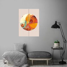 Play Circle 8 poster by from collection. By buying 1 Displate, you plant 1 tree. Pop Art Posters, Well Thought Out, New Artists, Print Artist, Cool Artwork, Metal, Plate, Art Prints, Interior Design