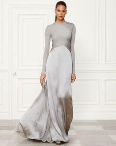 Fiona Evening Gown - Collection Apparel Shop All - RalphLauren.com