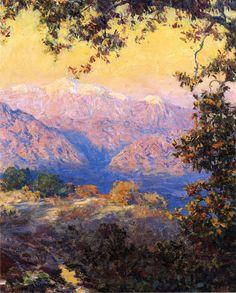 Guy Rose (1867-1925) - Sunset in the High Sierras
