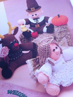 crochet holiday doorstops volume 2 craft projects annies attic pattern booklet 871412 crochet amigurumi