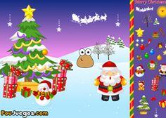 PouJuegos.com - Juego: Merry Christmas Pou - Jugar Juegos Gratis Online Flash