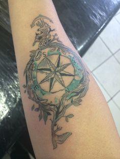 Tattoo rosa dos ventos