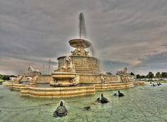 Фонтан Скотт #beautiful #fountains