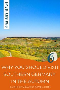 Are you planning to travel to Germany in the Autumn? Here are 11 reasons why you south visit Southern Germany in the fall! It's the best fall destination in Germany! I things to do in Germany I Germany travel I what to do in Germany I where to go in Germany I places to go in Germany I Germany in September I Germany destinations I Germany in October I what to do in Southern Germany I fall in Southern Germany I Germany in autumn I fall in Germany I autumn in Germany I #Germany #falltravel Europe Travel Guide, Europe Destinations, Holiday Destinations, Travel Guides, Visit Germany, Germany Travel, Travel Usa, Euro Travel, European Vacation