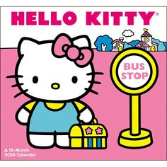 Hello Kitty Mini Wall Calendar | $7.99 | Sweet and cute, Hello Kitty continues to be a pop culture icon. She is one of the most unique and identifiable brands of our time, with fans of all ages and demographics. Spend the year with her with Hello Kitty Mini Wall Calendar.