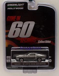 GREENLIGHT 44693 GONE IN 60 SIXTY SECONDS 1967 SHELBY GT 500 ELEANOR 1/64 GREY #GreenLight #Shelby