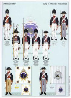 Prussia; Foot Guard 1806