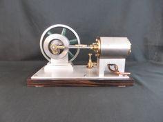 Model Engine - Hypocycloidal Model Engine by Brian Stephenson  http://www.modelenginesbrian.com/