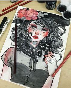 #mulpix  #draw  #desenhos  #desenho  #art  #artista  #like  #follow  #followme  #linda  #desenhando  #artista  #desenhista  #tattoo  #tatuagem  #linda  #amazing  #like . By ✅ @jacquelindeleon ✅ . Adm  @vandinho.c
