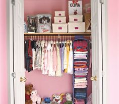 Clean Up Closets, I am going to make an attempt to do this in the kids room
