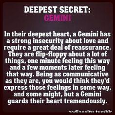 Gemini personally traits