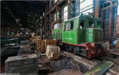 Abandoned And Dangerous Iron And Steel Plant | English Russia | Page 3