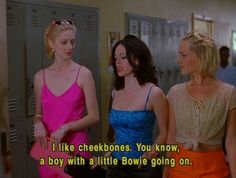 Jawbreaker - this movie is easily in my top ten favorites.  It seems like it would be a lame high school movie, but Rose McGowan is a total badass!  Plus, I love the color scheme in this movie too.