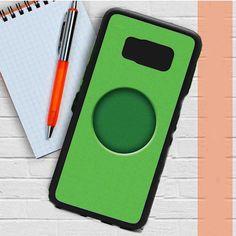 Monogram Rough Texture Green Samsung Galaxy S8 Plus Case Dewantary